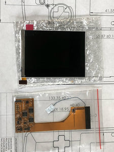 Game Boy Color IPS Funny Playing LCD + flex cable