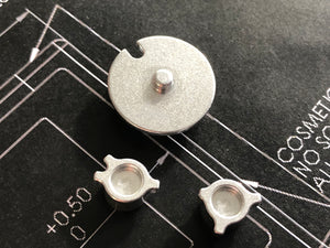 Game Boy Color Machined Buttons and Directional Keypad