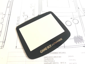Gameboy Advance- Replacement Screen Lens - Glass