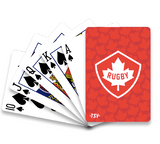 Rugby Canada Playing Cards