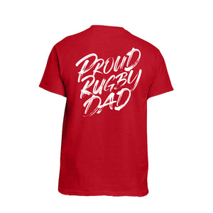 Proud Rugby Dad T-shirt