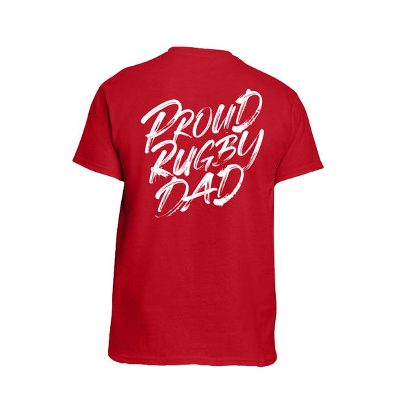 Proud Rugby Dad T-shirt (60%OFF)