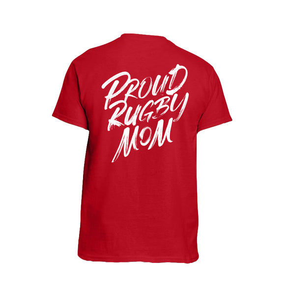 Proud Rugby Mom T-shirt