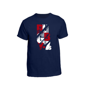 2019 RUGBY 7s Tee - Navy