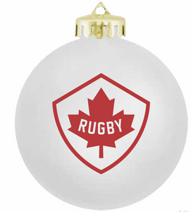 Holiday Ornament-White