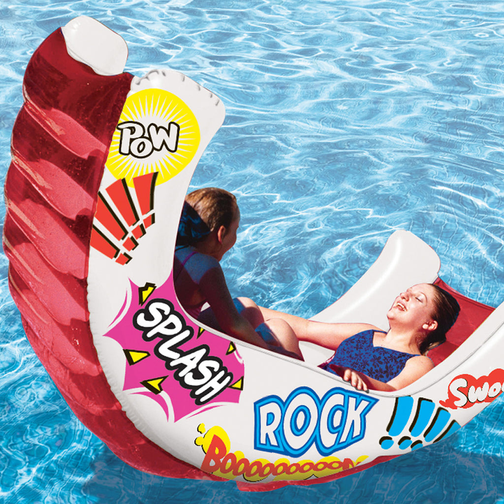 Aqua Rocker Fun FloatAqua Rocker Fun Float Aqua Rocker Fun Float
