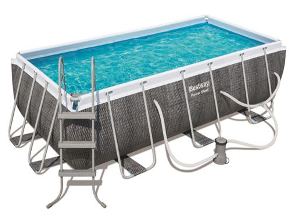 Rectangular Steel Pro Pool Set