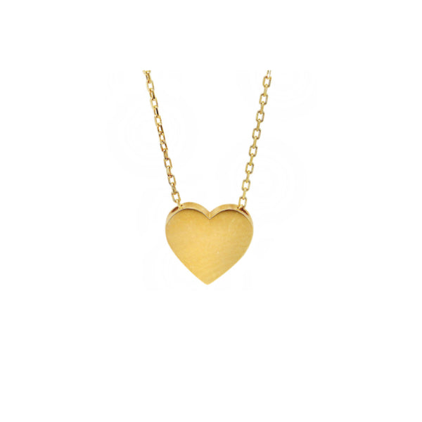 heart of 10kt gold