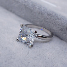 Square Shape Ring Princess For Women