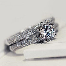 Load image into Gallery viewer, Perfect Round Cut Zircon Stone Rings for Female - hope2shop