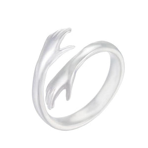 Vintage Hugging Hand Ring for Women - hope2shop