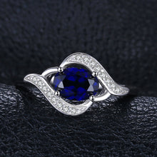 Load image into Gallery viewer, 1.1ct Blue Sapphire Statement Ring For Women - hope2shop