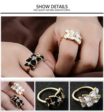 Ring Austrian Crystals Wedding Party Ring For Women