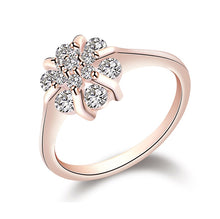 Load image into Gallery viewer, Flower Zircon Wedding Rings
