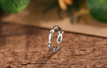 Sterling Silver Fish Rings For Women - Resizable