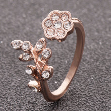 Load image into Gallery viewer, Flower Finger Ring For Women