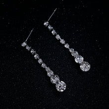 Load image into Gallery viewer, Celebrity Style Necklace Earrings Wedding Jewelry Sets