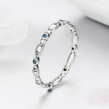 Load image into Gallery viewer, Silver Stackable Fish Rings