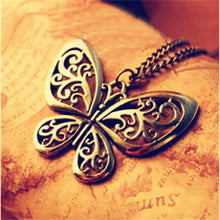 Vintage Retro Copper Long Necklace/Pendant for Women