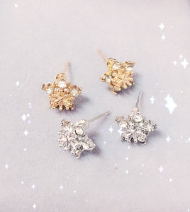 Rose Gold Stars Stud Earring