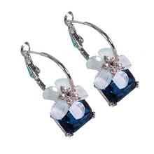 Load image into Gallery viewer, Crystal Cherry Earrings