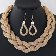 Load image into Gallery viewer, Mysterious Charming Necklace Earrings Set