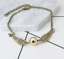 Load image into Gallery viewer, New Golden Snitch Pocket Bracelet
