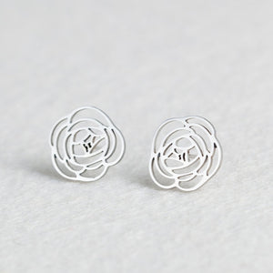 Animal Heart Leaf Cat Flower Star Stud Earrings