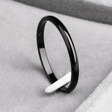 Load image into Gallery viewer, Titanium Steel Anti-allergy Smooth Simple Rings