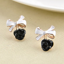 1 Pair Women Lady Charming Rose Flower Ear Studs