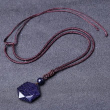 Black Obsidian Pendant Necklace