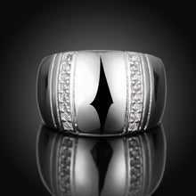 Load image into Gallery viewer, Sterling Silver Lover's Ring