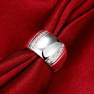 Sterling Silver Lover's Ring