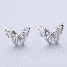 Load image into Gallery viewer, Sterling Silver Splicing Cute Animals Stud Earrings