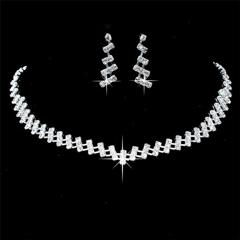 Crystal Bridal Wedding Jewelry Sets