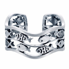 Load image into Gallery viewer, Lovely Double Fish Adjustable Rings