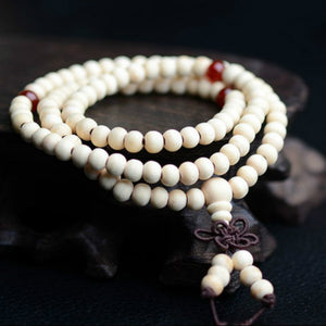 Natural Sandalwood Buddha Wood Prayer Bracelets