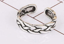 Load image into Gallery viewer, Silver Weaving Index Tail Ring