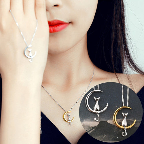 Charm Silver/Gold Color Lucky Necklace