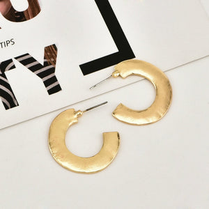 Gold Color Star Stud Earrings for Women