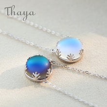 Load image into Gallery viewer, Light Forest Pendant Aurora Necklace