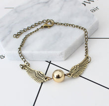 New Quidditch Golden Snitch Pocket Bracelet
