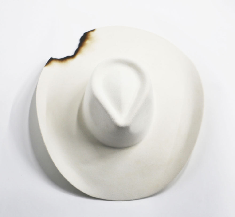 Wide Brim - White