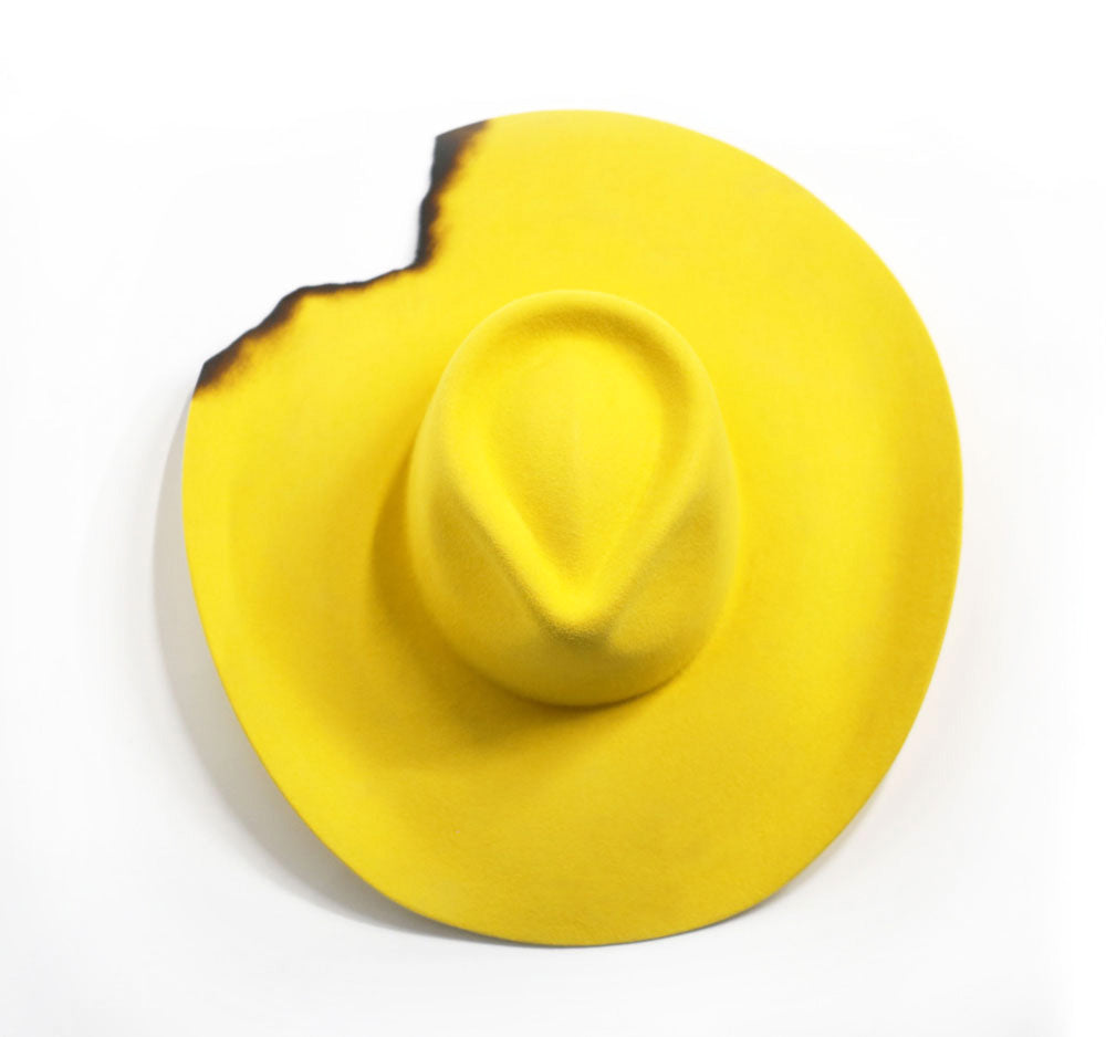 Wide Brim - Yellow