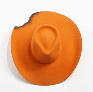 Wide Brim - Orange