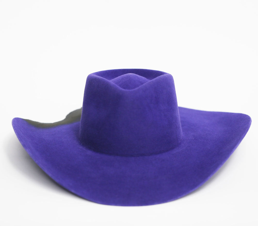 Wide Brim - Purple