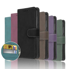 Load image into Gallery viewer, Luxury PU Leather Cell Phone Cover/Case Colors