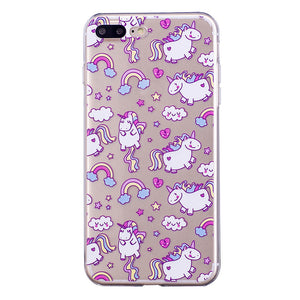 Horse Cartoon Phone Case Cover for iPhone