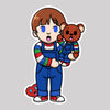 Chucky The Teddy Bear Sticker
