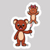 TEDDY BEAR & BALLOON BEAR